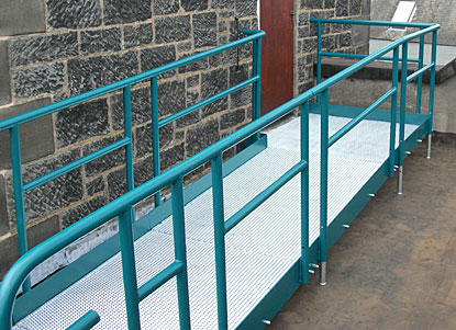 A high quality disability access ramp
