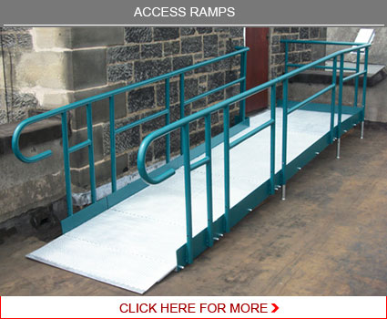 Access ramps - fully DDA compliant